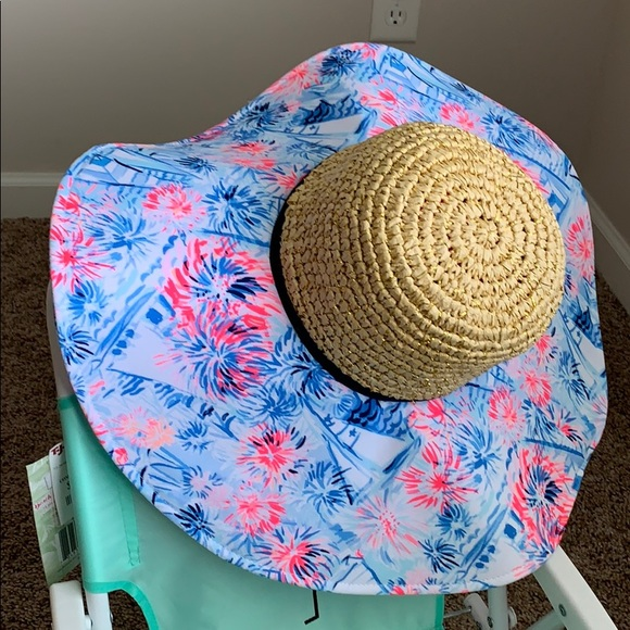 32f9a7bf085a58 Lilly Pulitzer Accessories | Nwt Sea To Shining Sea Hat | Poshmark